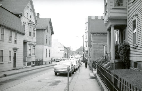Spring Street, Newport; West Side, North From Mary
