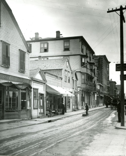 East Side of Thames Street, Between Marlborough Street & Washington Square; Newport