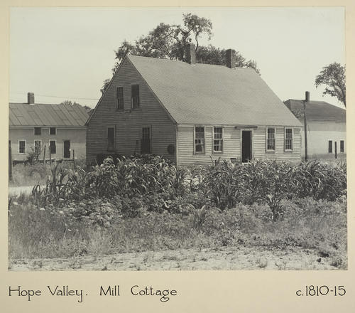 Hope Valley. Mill Cottage c. 1810-15