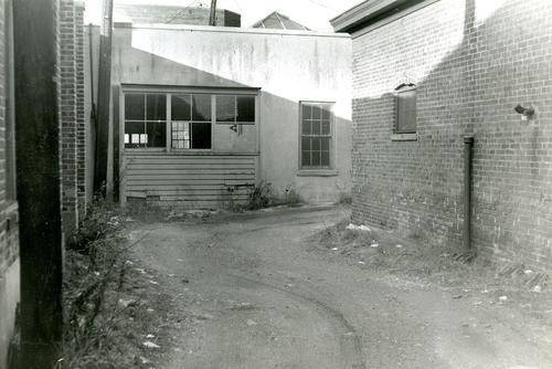 Alley Behind Ley's Century Store