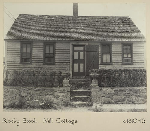 Rocky Brook. Mill Cottage c. 1810-15