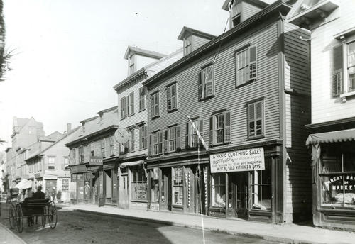 Thames St., West Side, South of Mill St., Newport