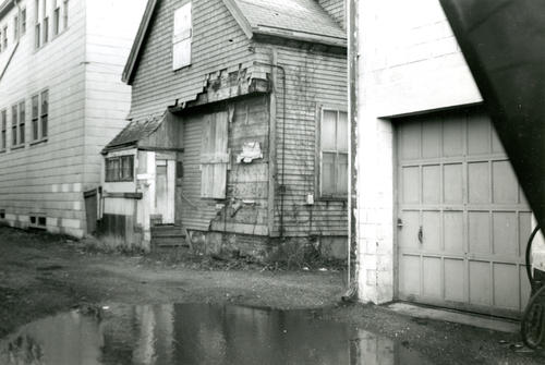 Swan Ave., Front Side of House on Film No.105, From Norton's Boat Yard