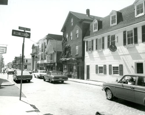 Thames Street, West Side at Green Street, Newport