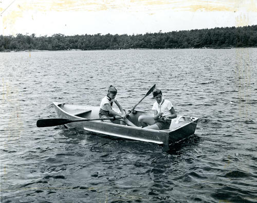 Fishing at Yawgoog Scout camp