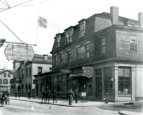 Corner of Cannon & Thames Street, Newport