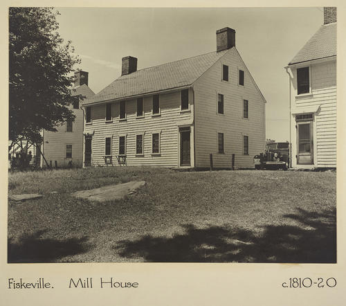 Fiskeville. Mill House c. 1810-20