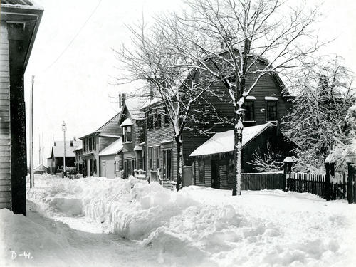 Third Street Looking South From Elm Street, Newport