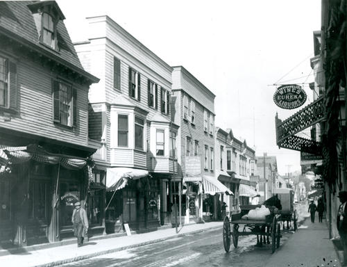 Thames Street, West Side, North of Long Wharf, Newport