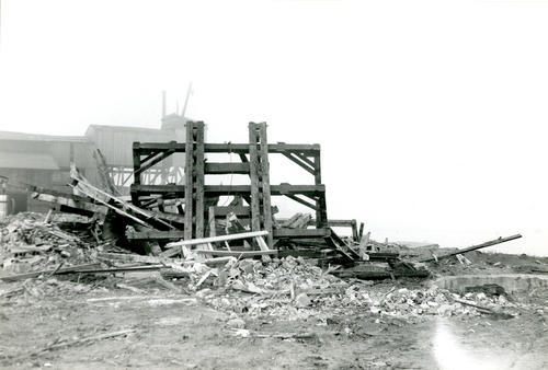 Demolition of Norton's Shipyard Railway