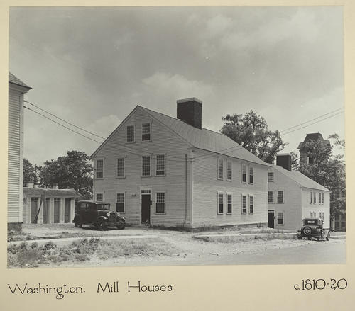 Washington. Mill Houses c. 1810-20