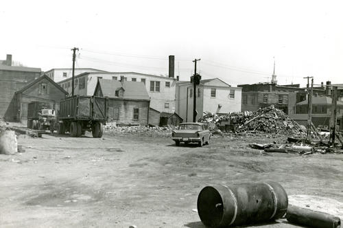 Norton's Boatyard Demolished