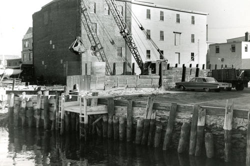 Sherman's Wharf, J.T. O'Connell's Warehouse