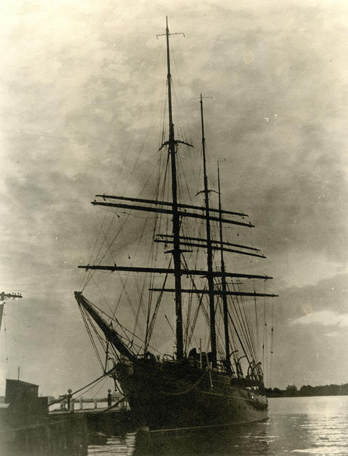 Aloha, Yacht of Arthur C. James, Newport