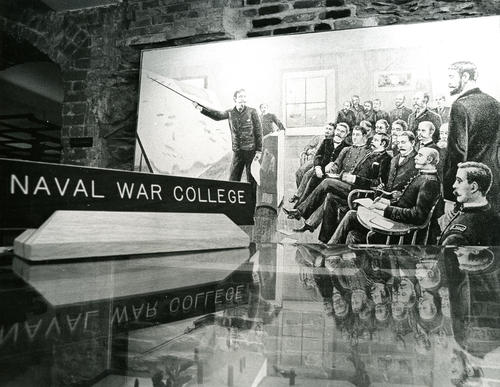 U.S. Naval War College Museum Display