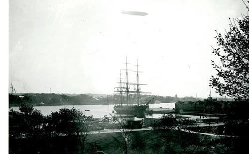 Shenandoah Over Constellation, Newport