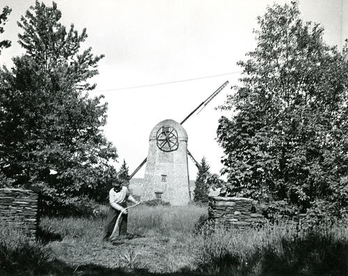 Old Grist Mill before restoration