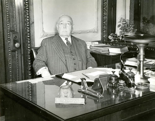 Frank M. Mason, Secretary, Old Stone Bank