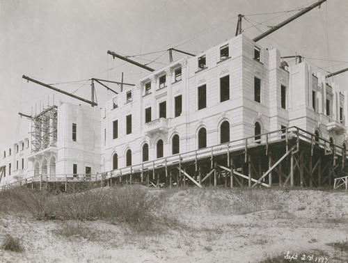 Construction of RI State House