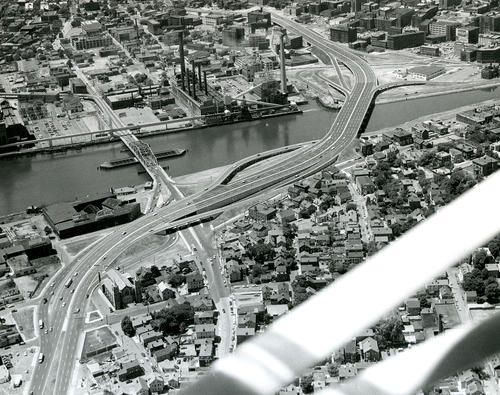 View of Providence River Bridge