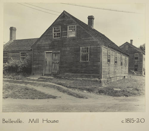 Belleville. Mill House c. 1815-20