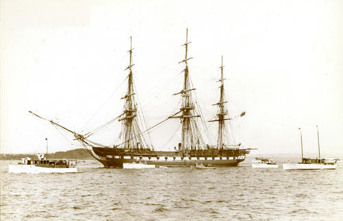 Constitution (Frigate) at Newport