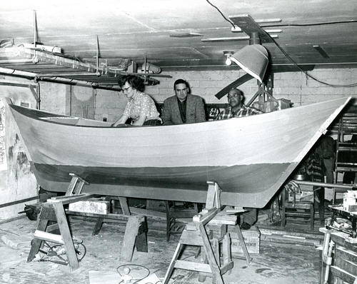 Boat in Workshop