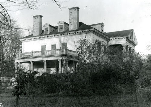 White Hall- Coogan House; Corner of Old Beach Road and Rhode Island Ave