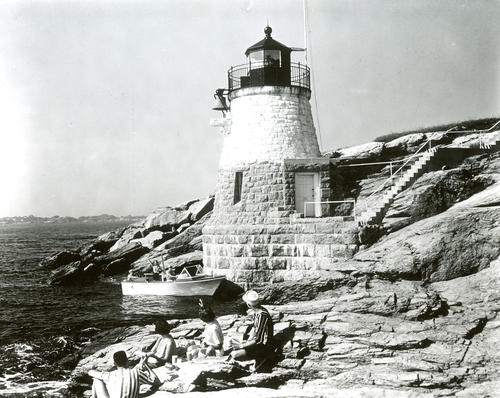 Castle Hill Light, Newport; Guiding Beacon for Channel Leading into Harbor