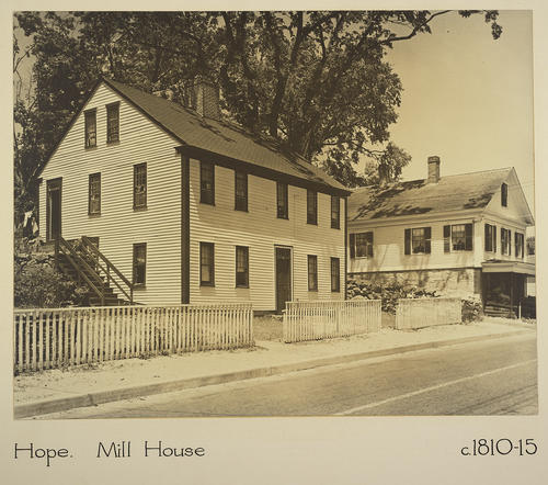 Hope. Mill House c. 1810-15