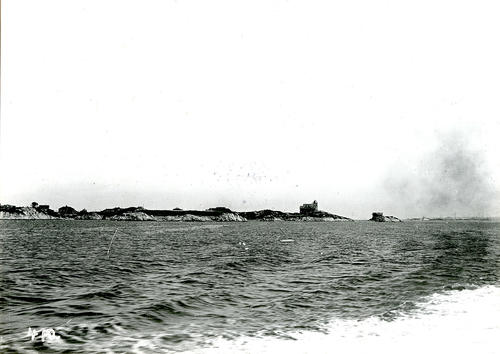 Offshore View of Clothier Estate and 'Clingstone'