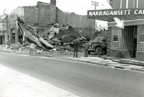 Long Wharf - Demolition of Manning's Automotive Supply