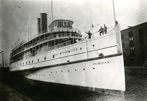 Puritan (Steamer) in Dry Dock at New York