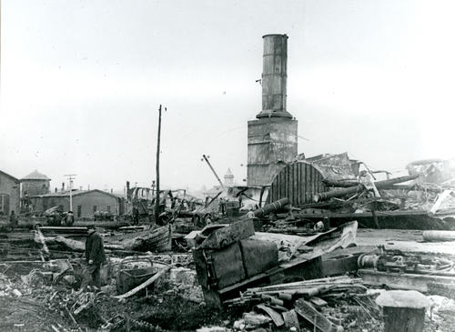 SS Plymouth, Fall River Line, After Fire at Newport Dock
