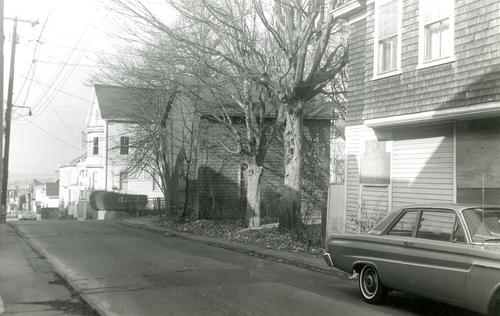 Levin Street, North Side, Looking West, Newport