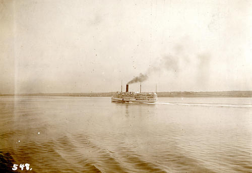 Plymouth (Steamboat) in Narragansett Bay