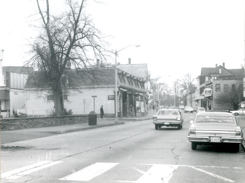 Junction, Levin Street, Bellevue Avenue, and Memorial Boulevard From the East