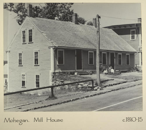 Mohegan. Mill House c. 1810-15