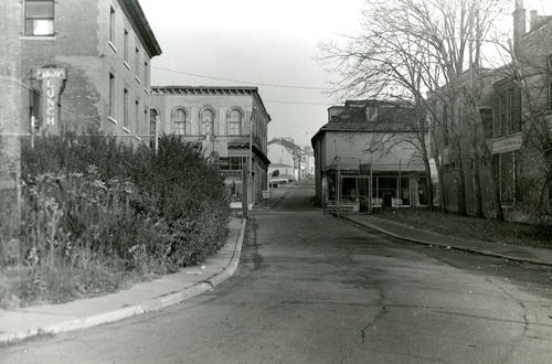 Looking East on from Church Street from Government Landing