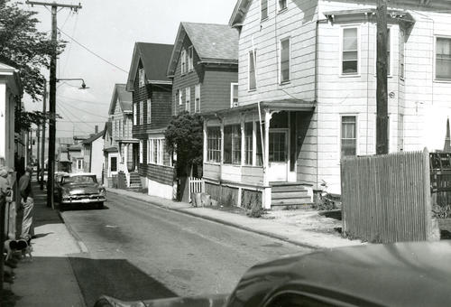 Dennison Street, North Side from Spring Street, Newport