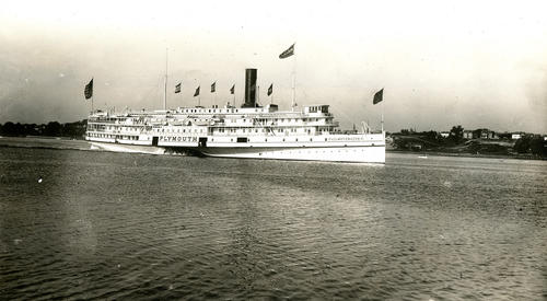 SS Plymouth Fall River Line