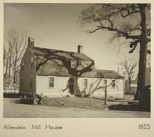 Allendale. Mill House 1823