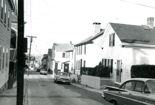 Levin Street, West From Thomas Street, Newport