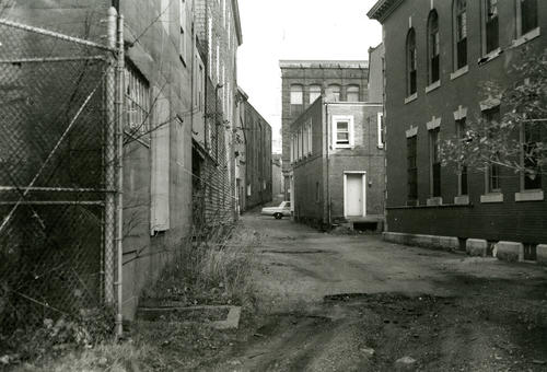 Frank Street, Looking East from Government Landing