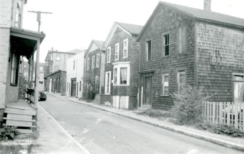 Deblois Street, Looking Towards Bellevue Avenue, Newport