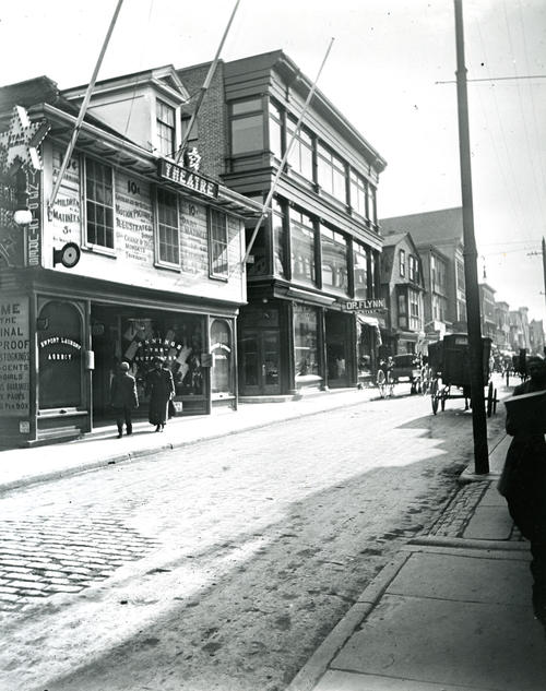 Thames Street, East Side, South of Touro Street, Newport