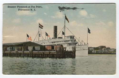 Steamer Plymouth at Fox Point