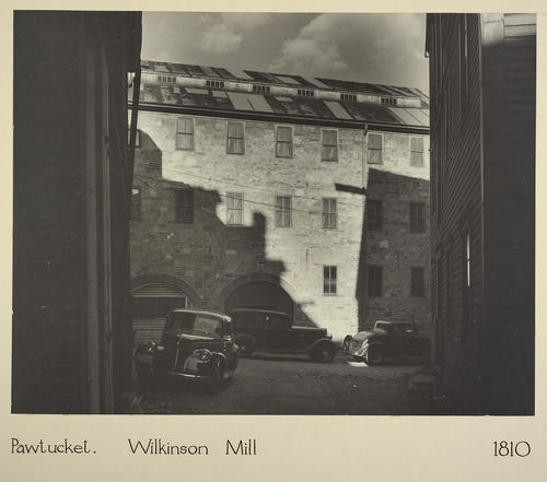 Pawtucket. Wilkinson Mill 1810