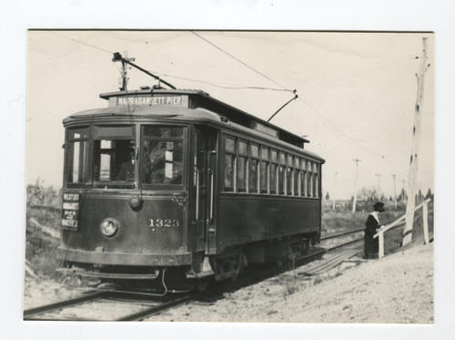 1323 Bradley 1911 last used on Buttonwoods Line