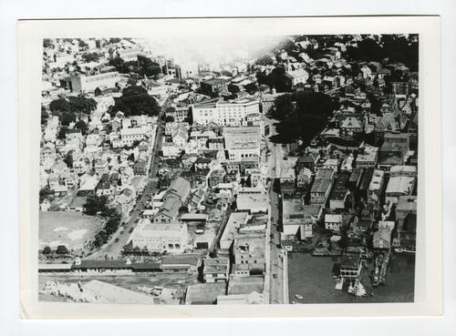 Aerial view of Newport